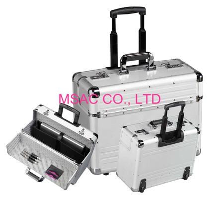 Casos de agregado de aluminio/casos de CasesNotebook del documento/casos del piloto/cajas de la carretilla